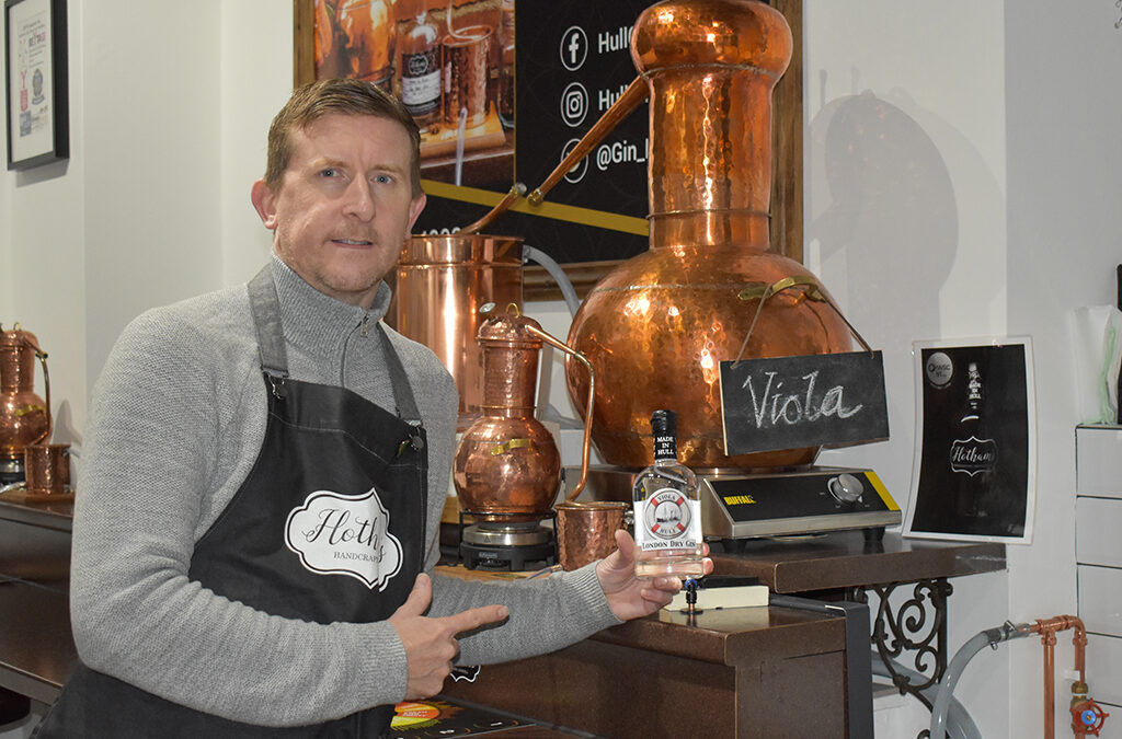 Viola Trust partners with businesses for new gin launch event
