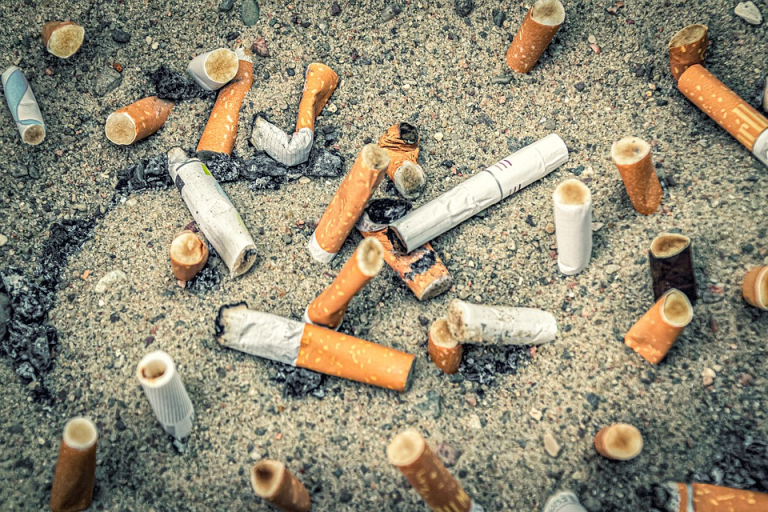 Hospital patients and visitors face £100 fines for dropping cigarette butts