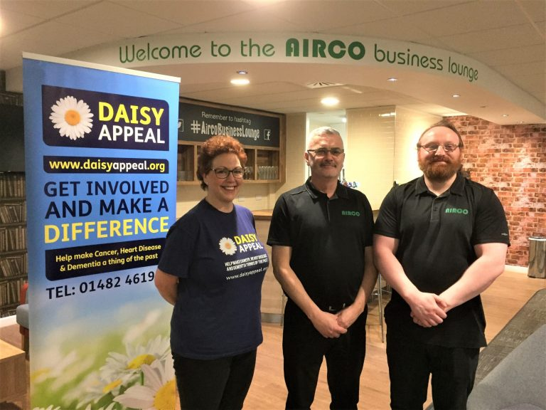 They're off – for the Daisy Appeal race night at Airco