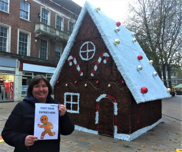 City Centre Businesses Offer Family Fun With Festive Gingerbread Hunt
