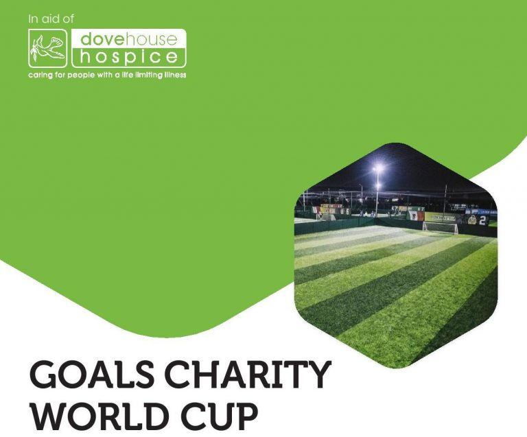Become a champion on the pitch for Dove House Hospice