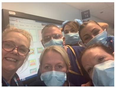 Staff on Ward 1 at Hull Royal step forward to be there for patients with COVID-19