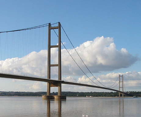 Humber Bridge works shortlisted for top engineering award