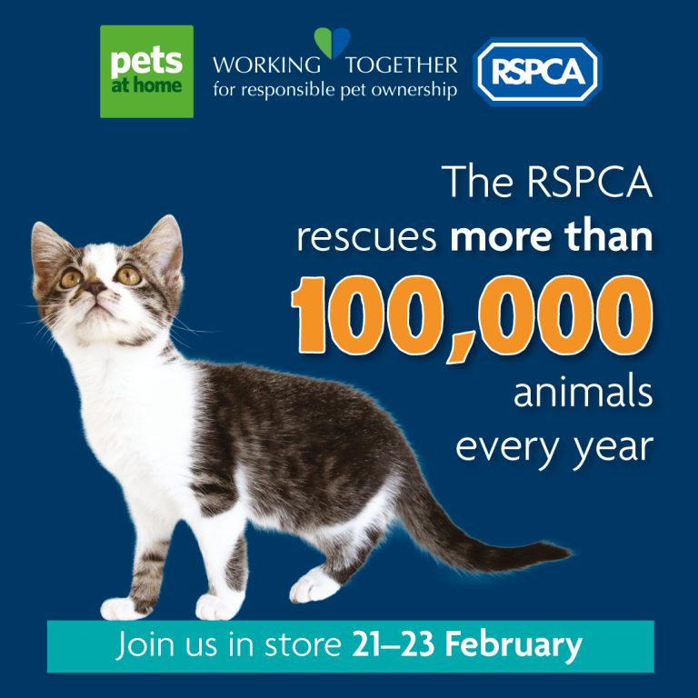 Calling all animal lovers! Come along to your nearest Pets at Home store
