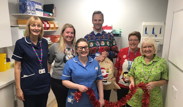 East Yorkshire companies fund 'Project Christmas' for children's ward