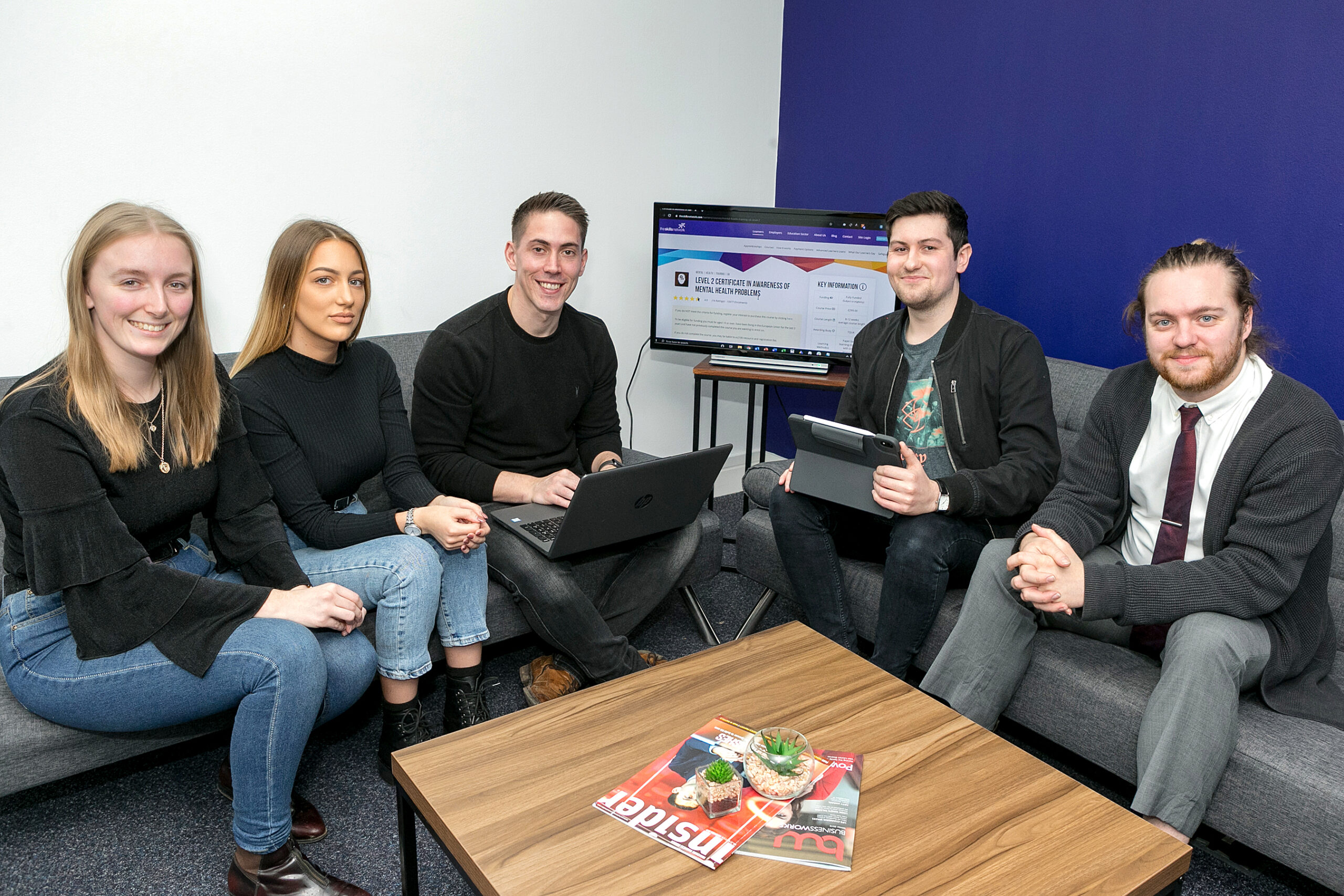 Deep Business Centre spreads the word about mental health in the workplace