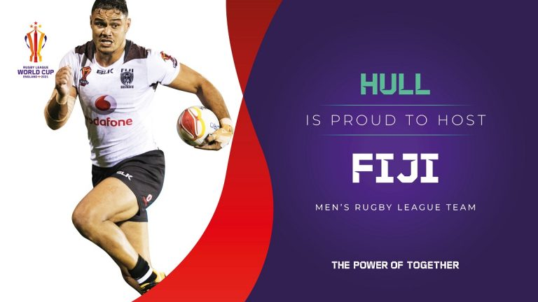 Hull to host Fiji in Rugby League World Cup 2021