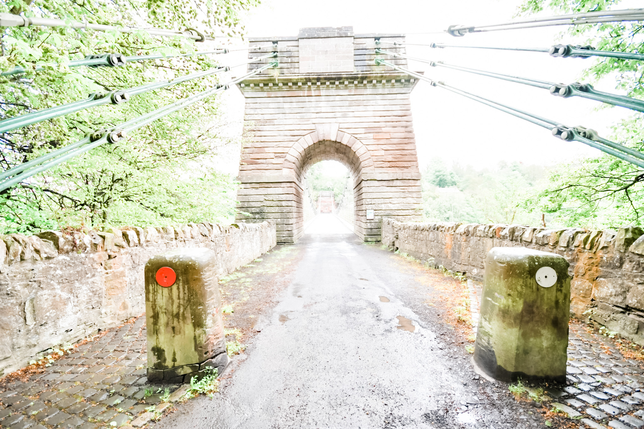 Read more about the article Spencer Group to Begin Rebuild of Historic Chain Suspension Bridge