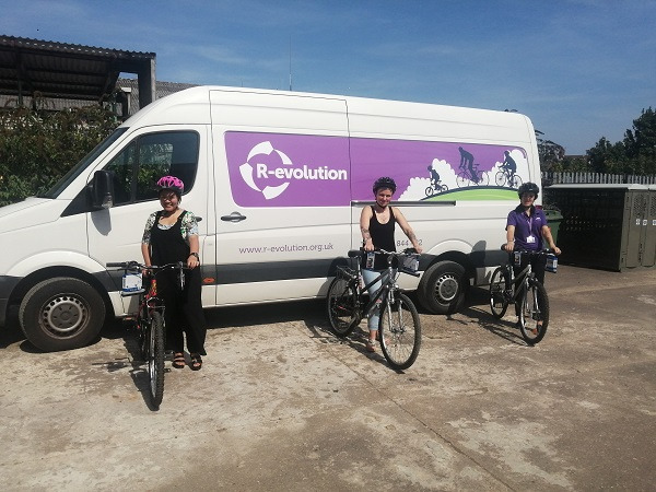 Hull Royal Infirmary and Castle Hill Hospital staff win free bikes thanks to charity R-evolution