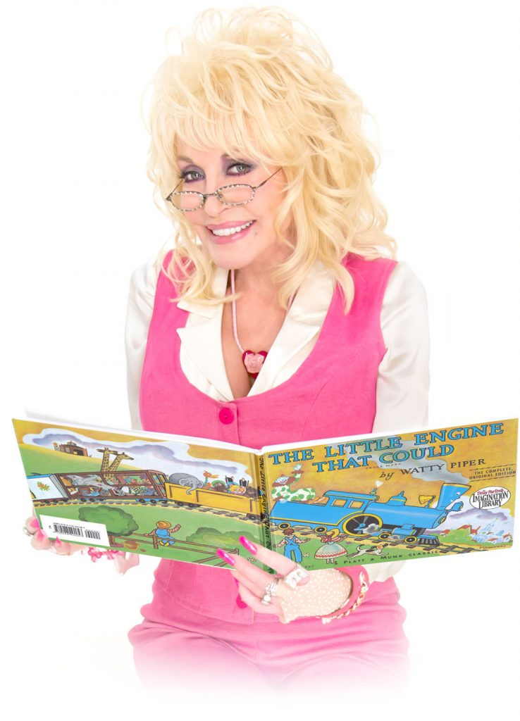 Children to receive a free book every month through Dolly Parton scheme