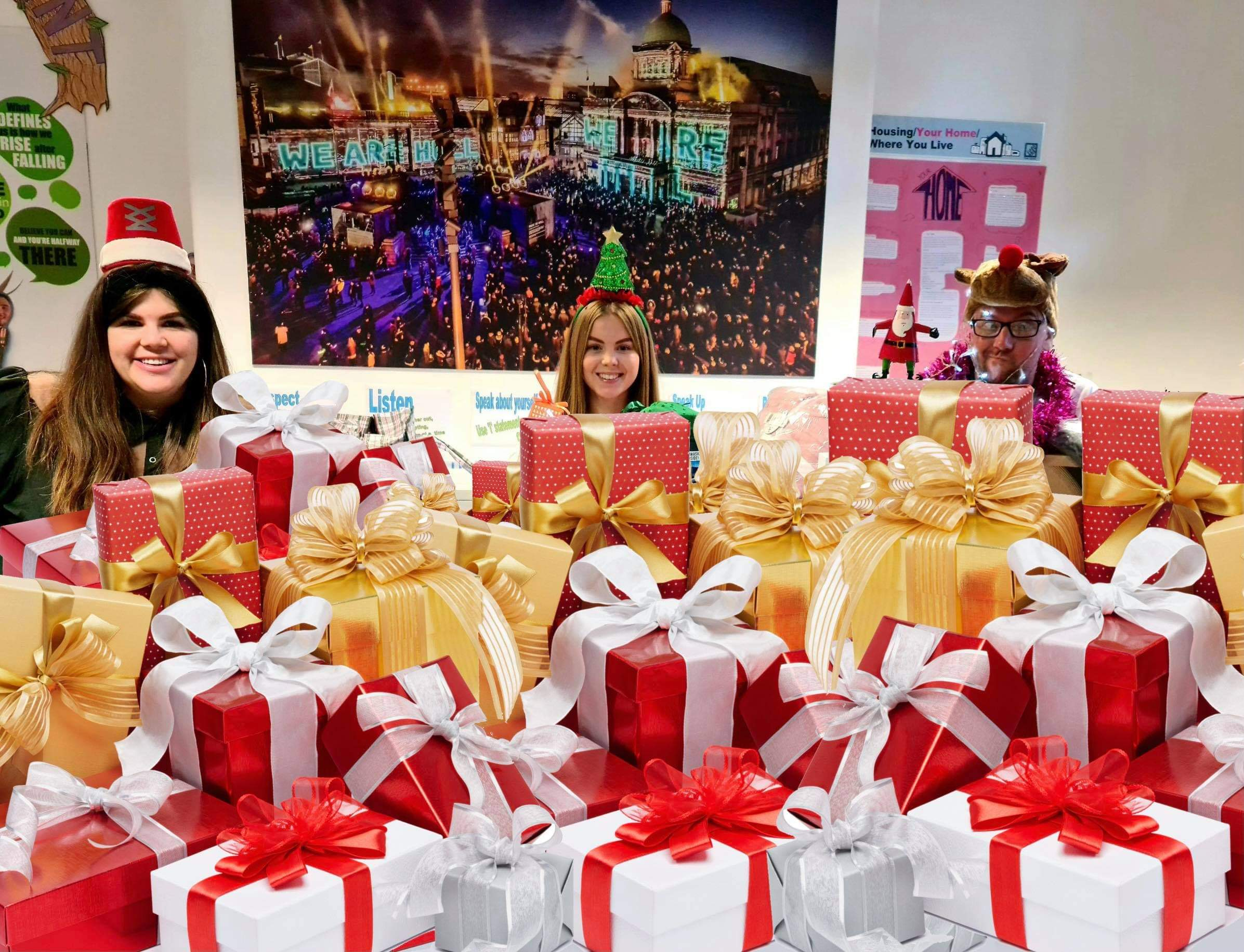 Operation Santa's Sleigh set to deliver a cracking Christmas for care leavers