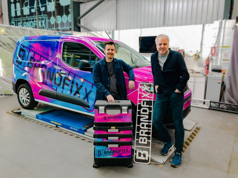 Hull father and son team launch revolutionary new vehicle decals business