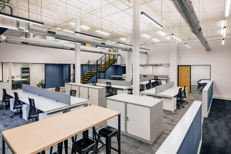 Read more about the article From redundant factory space to fun and functional office: new workspace unveiled at Groupe Atlantic