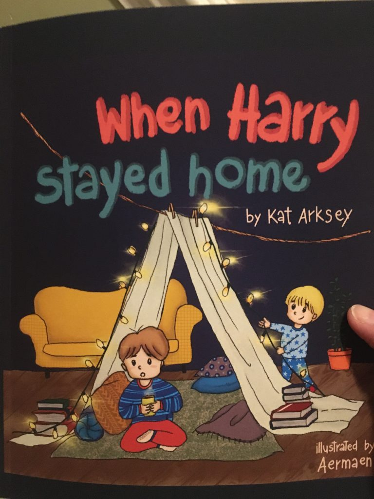 Read more about the article Hull mum pens her first children's book to support parents and their children in lockdown