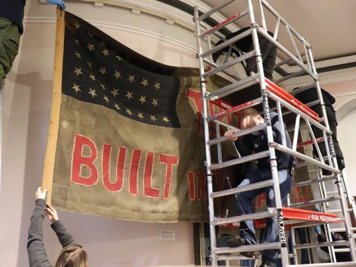 Historic Truelove flag to be restored