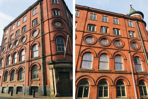 Refurbishment of iconic Grade II-listed city centre building takes shape