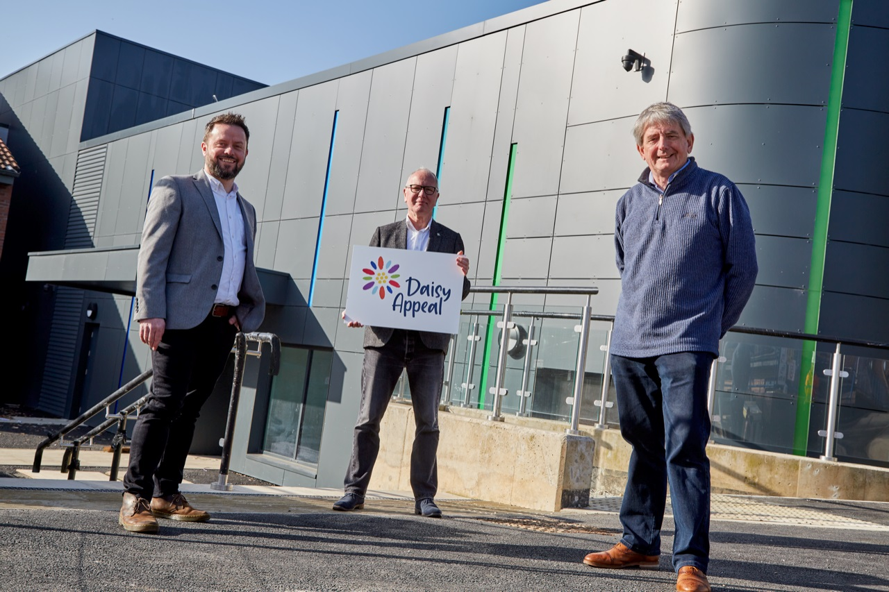 Brand experts provide colourful new platform as Daisy Appeal launches next campaign phase