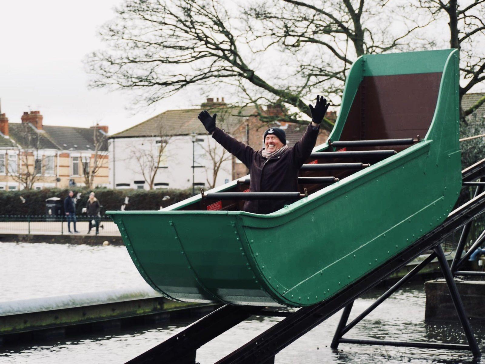 Historic splash boat returns to East Park