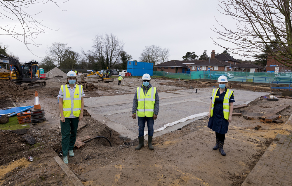 New home for Covid heroes Cutting edge rehabilitation ward is being built on Castle Hill site
