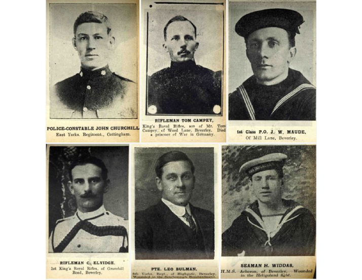 Read more about the article Announcing the 'First World War Lives' exhibition