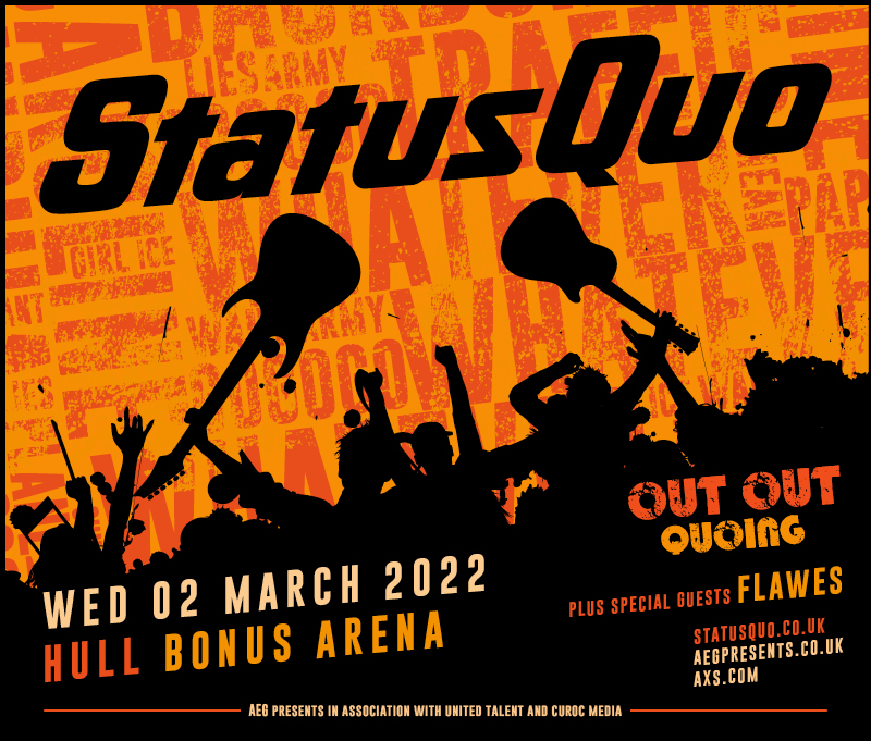 Read more about the article Status Quo Come To Hull