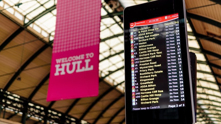 Read more about the article Smart city screens set to transform Hull's Paragon Interchange