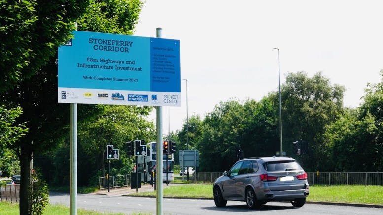 Smart tech used to improve safety as part of Stoneferry Corridor project