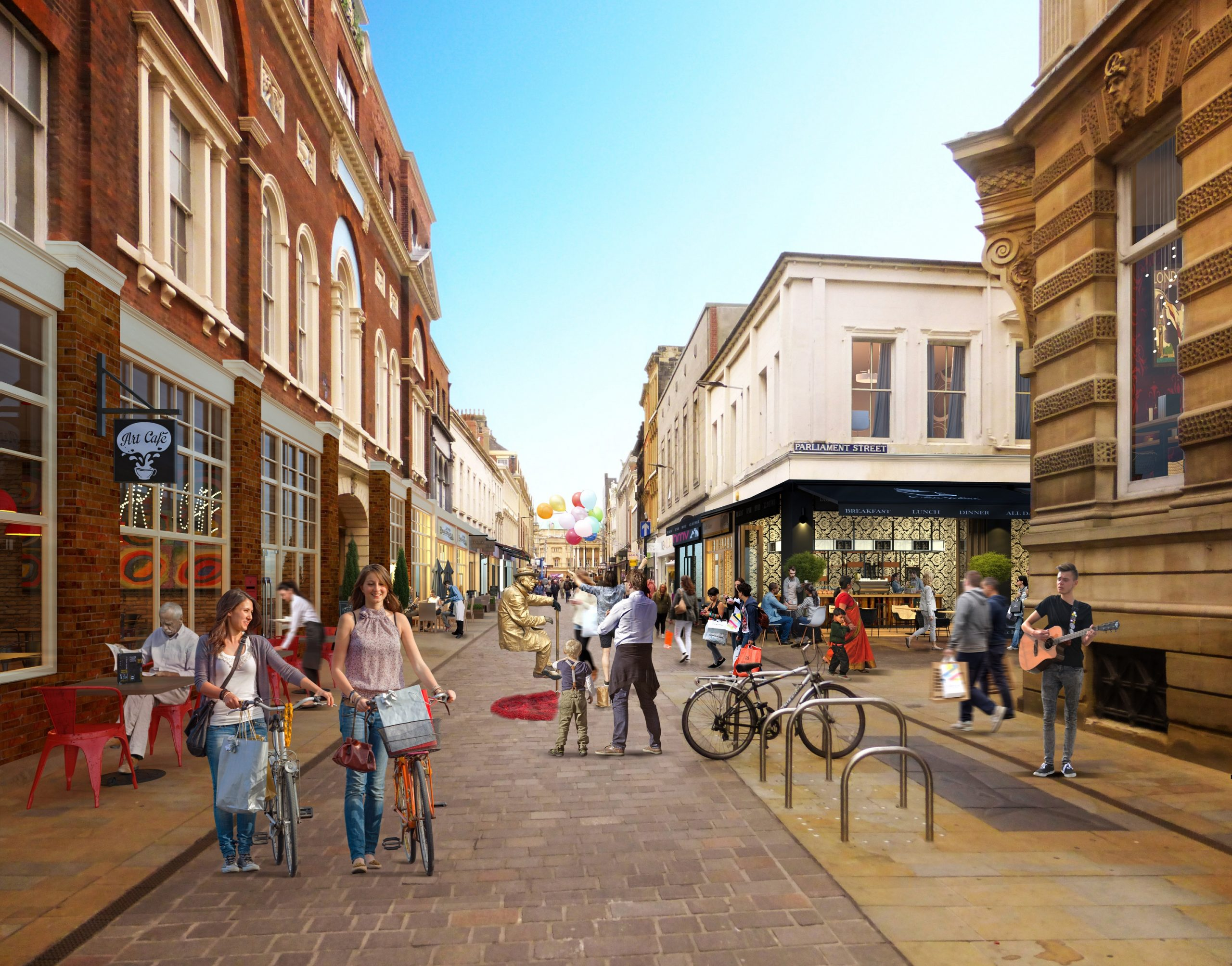 Read more about the article Whitefriargate awarded £100,000 for cultural programme