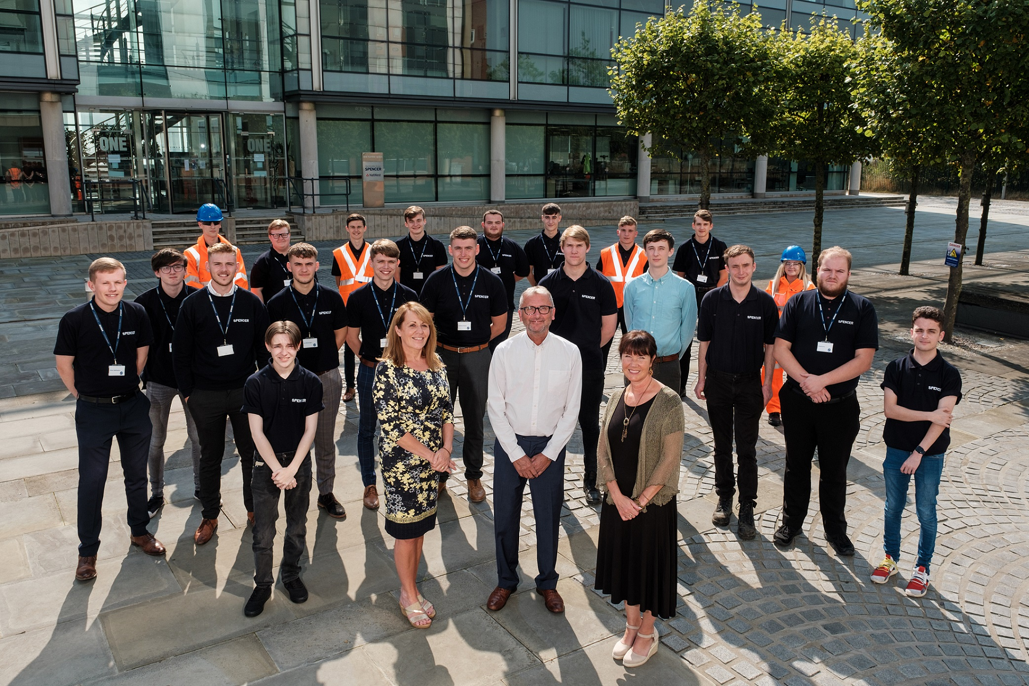Read more about the article Largest ever intake of Spencer Group apprentices all secure full-time positions